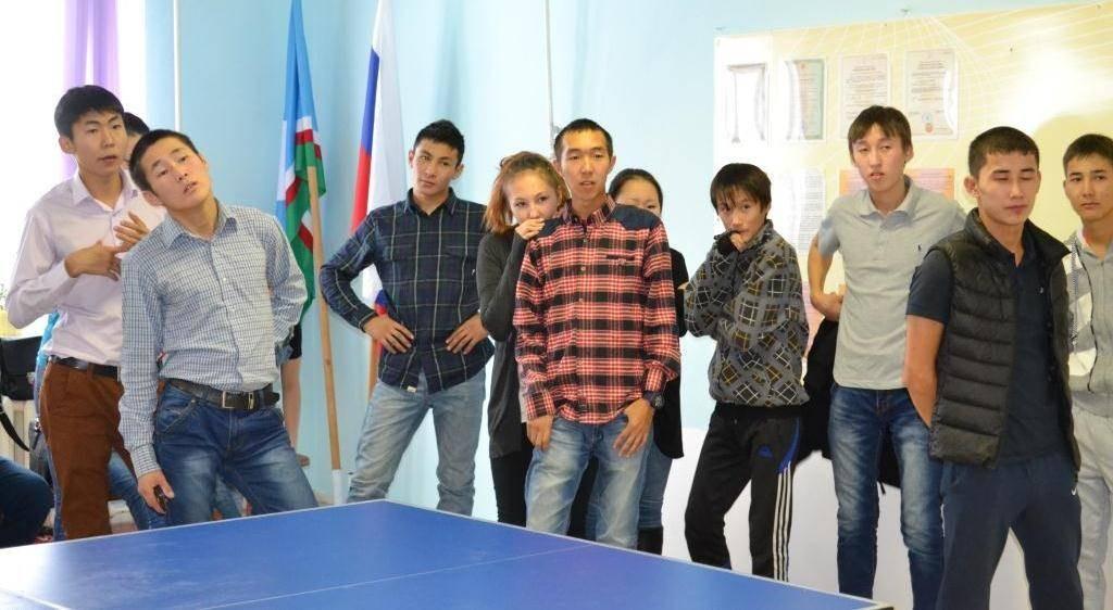 Соревнование по настольному теннису среди студентов